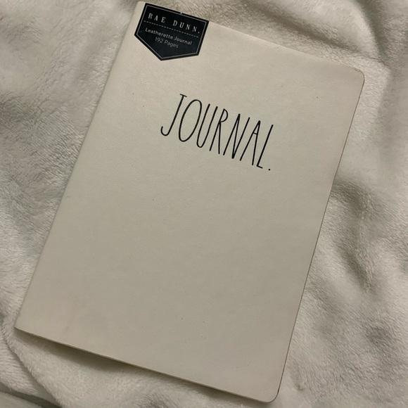 Rae Dunn journal